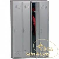 Шкаф для раздевалки Практик LS-41