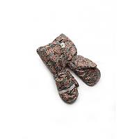 Рукавицы краги зимние для мальчика непромокаемые на меху Модный карапуз 03-00521-1