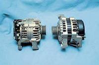 Генератор реставрированный на Mazda 323 86-89 1,7D /55A /