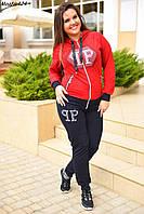 Женский спортивный костюм двухнитка Разные цвета Размеры 44-48 NM424д
