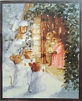 """Картина по номерам """"Рождественские колядки"""", 40х50см. (КН302, MG302)"""