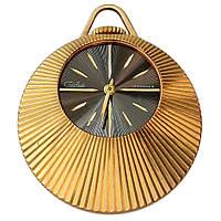 Позолоченные часы кулон Слава