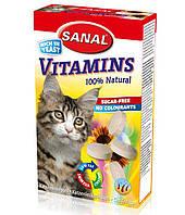 Витамины для кошек Sanal Cat Vitamins 50 грамм