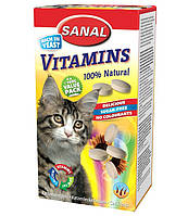 Витамины для кошек Sanal Cat Vitamins 400 грамм