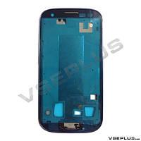 Рамка дисплея Samsung I9300 Galaxy S3, голубой