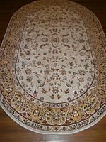 Ковер плотный  элитный (милионник) Buhara арт.3023 кремовый