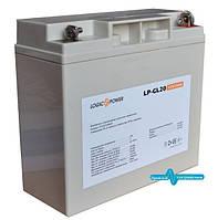 Акумулятор гелевий LogicPower LPM-GL 20 AH