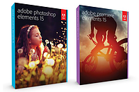 Пакет Adobe Photoshop Elements 15 и Adobe Premiere Elements 15 English Multiple Platforms (лицензия) (Adobe Systems)
