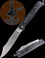 Купить Нож складной Douk-Douk Black Handle