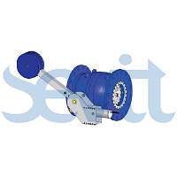 Игольчатый клапан с гидравлическим цилиндром простого действия и противовесом F5000: 010, 016, 025, 040, 064