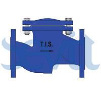 Проходной обратный клапан с пружиной B042 TIS