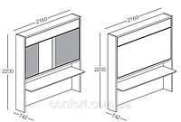 Мебель-трансформер Clei LOLLIDESK, фото 1