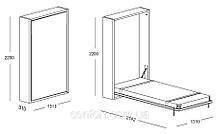 Мебель-трансформер Clei, модуль TELEMACO 120