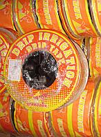 Лента  капельного орошения, полива с жёстким эмиттером UCHKUDUK DRIP TAPE 7,2 Mils 0,18 мм,15см. 1,4л/ч 250 м, фото 1
