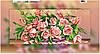 Схема для вышивки бисером на холсте на подрамнике Розы