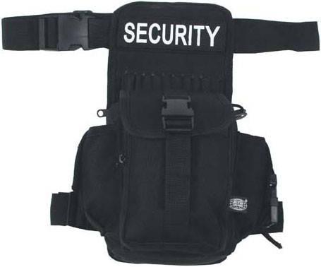 "Сумка на ногу, чёрная, MFH ""Security"" 30704A , фото 2"