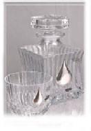 Хрусталь Штоф и шесть бокалов под виски купить в Харькове подарок для мужчины на 23 февраля