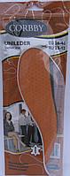 Стелька Корби Corbby Unileder кожаные обрезные