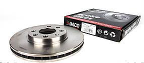 Переднй тормозной диск комбо / Combo / Корсса 1.7DI/DTI с 2001  (260x24) Германия Daco 603617
