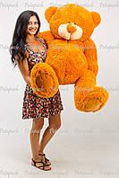 Большой плюшевый мишка, медведь Тедди 150см кирпич, фото 1