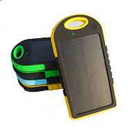 Зарядное устройство на солнечной батареи Power Bank Solar 12000mAh