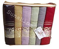 Лицевые полотенца 50х90  6 шт. Three Roses Cotton 100% / Хлопок 100%