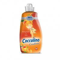 Кондиционер для белья Coccolino Персик 1,9 л = 54 стирки