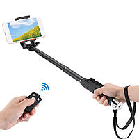 Монопод для селфи selfi Yunteng YT-888 + Bluetooth кнопка с Zoom (съемная)