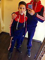 Подростковый спортивный костюм (подросток 9-14 лет)  Ткань : 3 нитка с начесом (на флисе)-турецкая