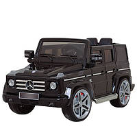 Электромобиль детский Мерседес G 55 EBLRS-2 цвет черный автопокраска