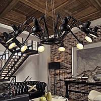 Светильник люстра Loft [ Spider folding ] 12 Lamp