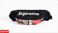 Поясная сумка Supreme (абстракция)