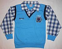 Рубашки-обманки мальчикам, 116 - 128
