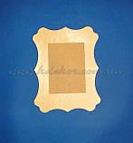 Рамка для фото заготівля для декору, фото 2