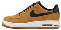 Мужские кроссовки Nike Air Force 1 Low (Найк Форсы низкие) песочные