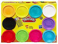 Play-Doh - Набір 10 баночок (набор пластилина 10 банок)