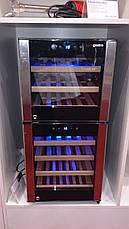 Холодильник для вина 120 л WKM120-2 GGM gastro (Германия), фото 3