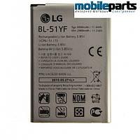 Оригинальний аккумулятор АКБ батарея АА PREMIUM LG G4 H540F / BL-51YF  3000 mAh