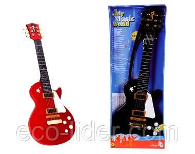 Электронная рок-гитара, 56 см, 2 вида, 3+