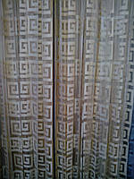 Нитяная штора Версачи