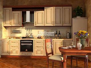 Кухня МДФ пленка с патиной