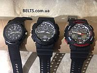 Спортивные мужские часы Casio G-Shock – черно-красные