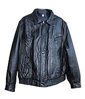 Куртка кожаная мужская, код 52048
