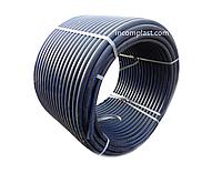 Труба полиэтиленовая водопроводная D 50 мм (10 бар) ПЕ100 SDR 17, фото 1