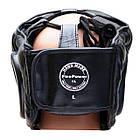 Шлем боксерский для тренировок FIREPOWER FPHG4 Black, фото 3