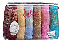 Набор полотенец для лица 6 шт. 70х140 Julia VIP Cotton 100% / ВИП Хлопок 100%, фото 1
