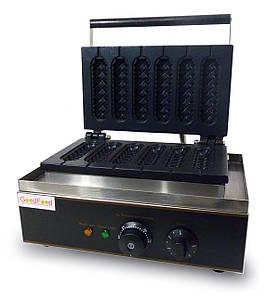 Гриль GoodFood CM6 однопостовой электрический для корн-догов серый