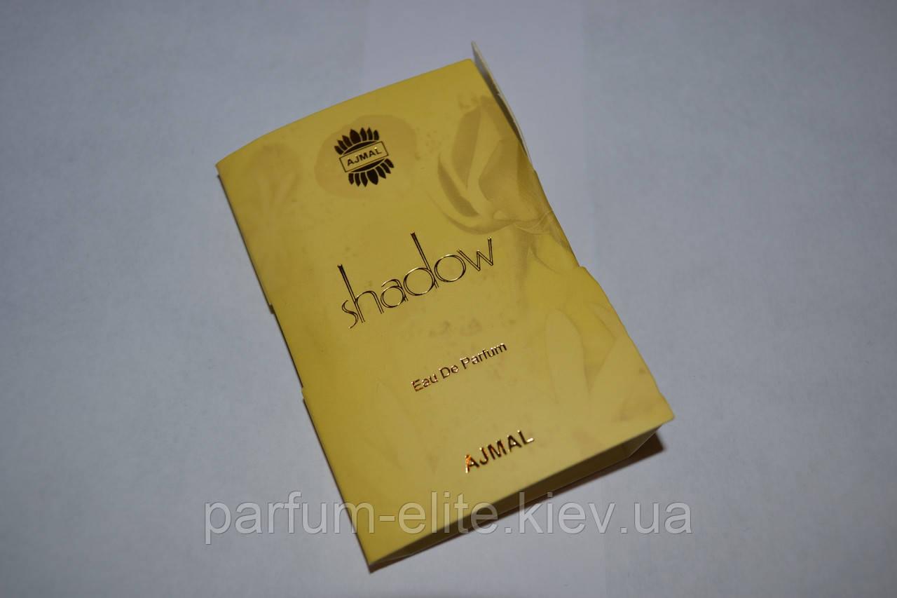 """Пробник женской парфюмированной воды Ajmal Shadow For Her 1ml - Интернет-Магазин """"Parfum Elite"""" в Киеве"""