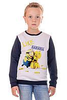 Свитшот детский Irvik DR335 синий