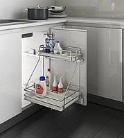 Inoxa Карго для кухні, серія Ellite 450мм, напрямні Grass 5107E(AS)/45-45